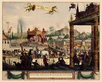 Mogul Procession Lahore Pakistan Asia - 1650 - 23.00 x 28.58