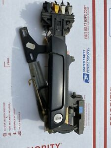 OEM BMW E32 E34 M5 540i 740iL 750iL FRONT DRIVERS DOOR CATCH HANDLE ASSEMBLY
