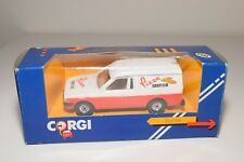 ^ CORGI TOYS C534 FORD ESCORT 55 VAN PIZZA SERVICE MINT BOXED