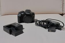 MINT Canon EOS Rebel T6 18MP Digital Camera with charger/battery ***EXTRAS***