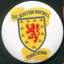 SCOTLAND SCOTTISH FOOTBALL FEDERATION OFFICIAL OLD PIN BUTTON