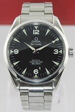 OMEGA AQUA TERRA RAILMASTER XXL 2502.52 AUTOMATIC  CO-AXIAL STEEL BLACK WATCH