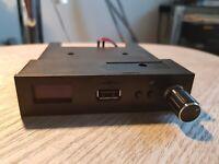 NEW GOTEK USB EmulatorRoland keyboard, Akai--FlashFloppy, OLED, Speaker, Rotary