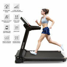 Treadmill Electric Motorized Folding Fitness Running Home Machine Incline 2.0 Hp