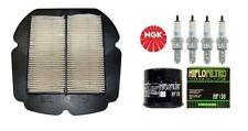 Pack Révision filtre à air huile bougie Moto SUZUKI SFV 650 Gladius 2009-2015