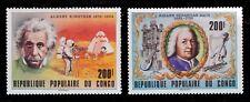 1979 CONGO BACH MUSICAL INSTRUMENTS EINSTEIN ASTRONAUTS ON MOON NH SCT. 511-512