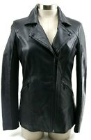 Marc New York Andrew Marc $495 Women's Lambskin Leather Jacket Size XS Black EUC