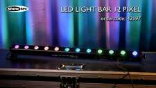 Showtec LED BAR 12x4 Watt RGBW LED Licht Leiste