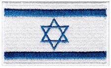 Israel Flag Small Iron On / Sew On Patch Badge 6 x 3.5cm Israeli Mossad AIRSOFT