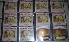 lot musique classique 10 CD FESTIVAL BAROQUE NEUF SOUS BLISTER + 2 VIVALDI BACH