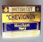 British Cut Chevignon Merchant Navy Pin Badge Military Rare Vintage (D6)