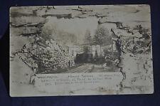 1906 RPPC Hoosac Tunnel North Adams Mass. Postcard, Cost 20 Million & 196 Lives!