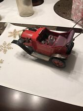 Vintage Tin Car Metal Battery Operated
