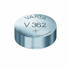 € 1.35/stk 2x original varta baterías relojes v362 (= 361) sr721sw (MHD Mind. 2 J.)