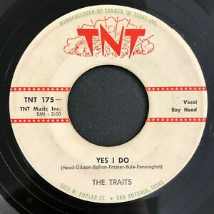 ROCKABILLY 45 - THE TRAITS - LIVE IT UP / YES I DO - TNT - HEAR MP3 LISTEN!!!