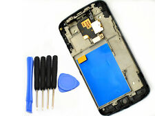For LG E960 Google Nexus 4 LCD Screen Display Touch Digitizer Frame Replacement