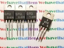 2SD712 / TRANSISTOR / TO220 / 4 PIECES (qzty)