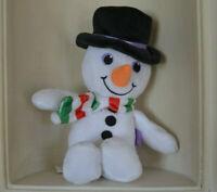 Mignon peluche doudou jouet bonhomme de neige blanc  Milka neuf
