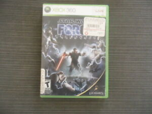 Star Wars: The Force Unleashed ORIGINAL (Xbox 360, 2008) Complete