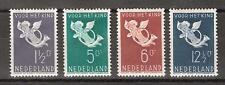 NVPH 289-292 Netherlands Nederland nr 289 290 291 292 MLH ong. 1936 kinderzegels