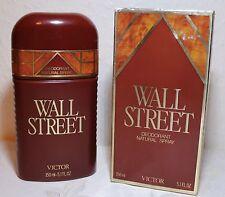 Prezzo di base € 100ml/26,60) 150ml. DEODORANTE SPRAY WALL STREET VICTOR (vintage)
