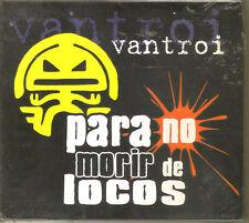 VANTROI - Para No Morir De Locos ( Hardcore Punk Mexicano ) Cd Mexican Edition