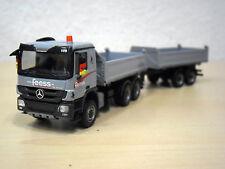 "Herpa - MB Actros `08 Tandem-Kipp-HZ ""Feess - Kirchheim/Teck - Fahrzeug-Nr. 109"""