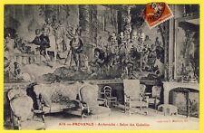 cpa AIX en PROVENCE (Bouches du Rhône) ARCHEVÉCHÉ Salon des GOBELINS Tapisserie