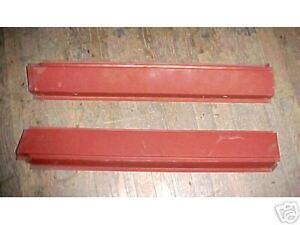 New TRIUMPH TR3  STEEL ROCKER PANELS ,TR3 sills **