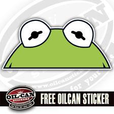 kermit monster peeper sticker / decal 170 x 85mm