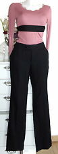Noa Noa Hose Wolle Wentworth Wool 34 XS black schwarz trousers pants new neu