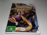 Tangled Nintendo Wii PAL *Complete* Wii U Compatible