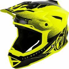 Fly Racing Adult Default MTB BMX Helmet Hi-Vis Yellow/Black - Ex-Display