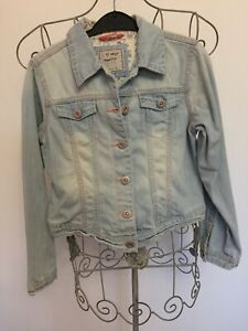 Next Girls Age 9 To 10 Years Pale Blue Denim Jacket