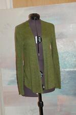 Eileen Fisher Petite Green Linen Cardigan Women's Size PP
