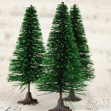 "3"" Bottle Brush Trees - 5 Pieces"
