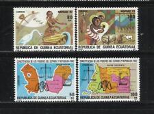 GUINEA ECUATORIAL. Año: 1983/4. Tema: TEMAS VARIOS. TIPOS DIVERSOS.