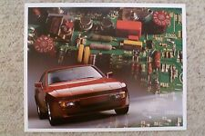 1986 Porsche 944 Coupe Showroom Advertising Sales Poster RARE Awesome L@@K 17x13