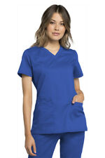 Cherokee Workwear Certainty Plus Women's V-Neck Top