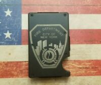 FDNY RFID theft blocking tactical wallet