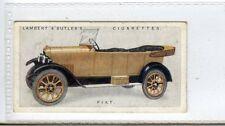 (Jc4707-100)  LAMBERT & BUTLER,MOTOR CARS(A),FIAT,1922,#17