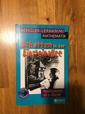 Schüler-Lernkrimi Mathematik: Schatten in der Einsteinallee, ab 5. Klasse