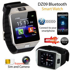 DZ09 Bluetooth Smart Unlock Phone Watch with SIM Camera for IOS Android Phone OZ