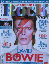 CLASSIC ROCK 6 2013 David Bowie Led Zeppelin EL&P Joe Cocker Mad Season Prince