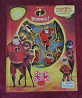 Disney/Pixar The Incredibles 2 Stuck on Stories Book & gameboard - FREE SHIPPING