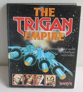 THE TRIGAN EMPIRE hardcover book (Hamlyn 1978) Don Lawrence