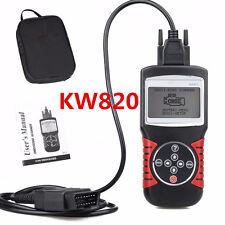KW820 OBDII EOBD Car Engine Fault Code Reader Diagnostic Scanner Tool Universal