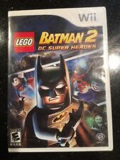 Lego Batman 2: DC Super Heroes for Nintendo Wii Brand New! Factory Sealed!