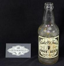 Vintage 1955 Owens Illinois Frostie Old Fashion Root Beer 12oz Soda Bottle - #8