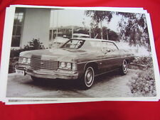 1974 CHEVROLET  IMPALA 2DR HARDTOP  BIG 11 X 17  PHOTO /  PICTURE